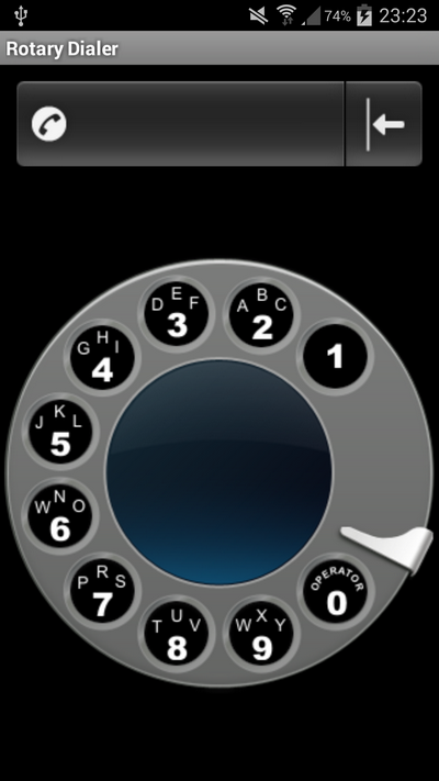 Rotary Dialer screenshot 2