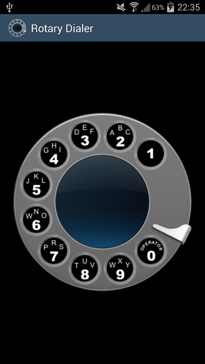 Rotary Dialer screenshot 1