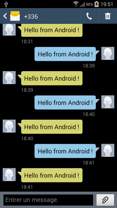 How to send and receive a SMS in Android ? – All for
