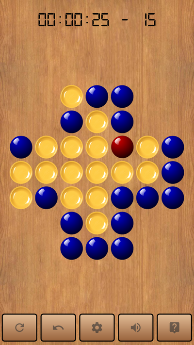 Peg Solitaire Brainvita : Rediscover the famous wooden game of our childhood – All for Android, Android for All