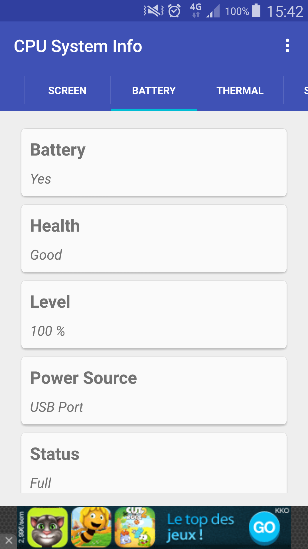 How to get Battery Information programmatically in Android