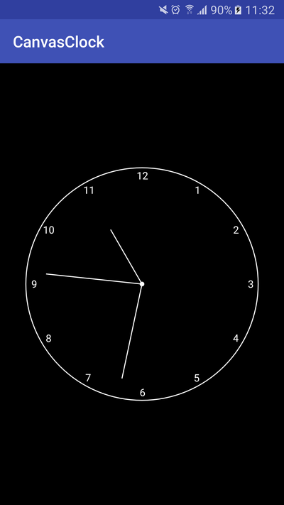 Learn to draw an Analog Clock on Android with the Canvas 2D API