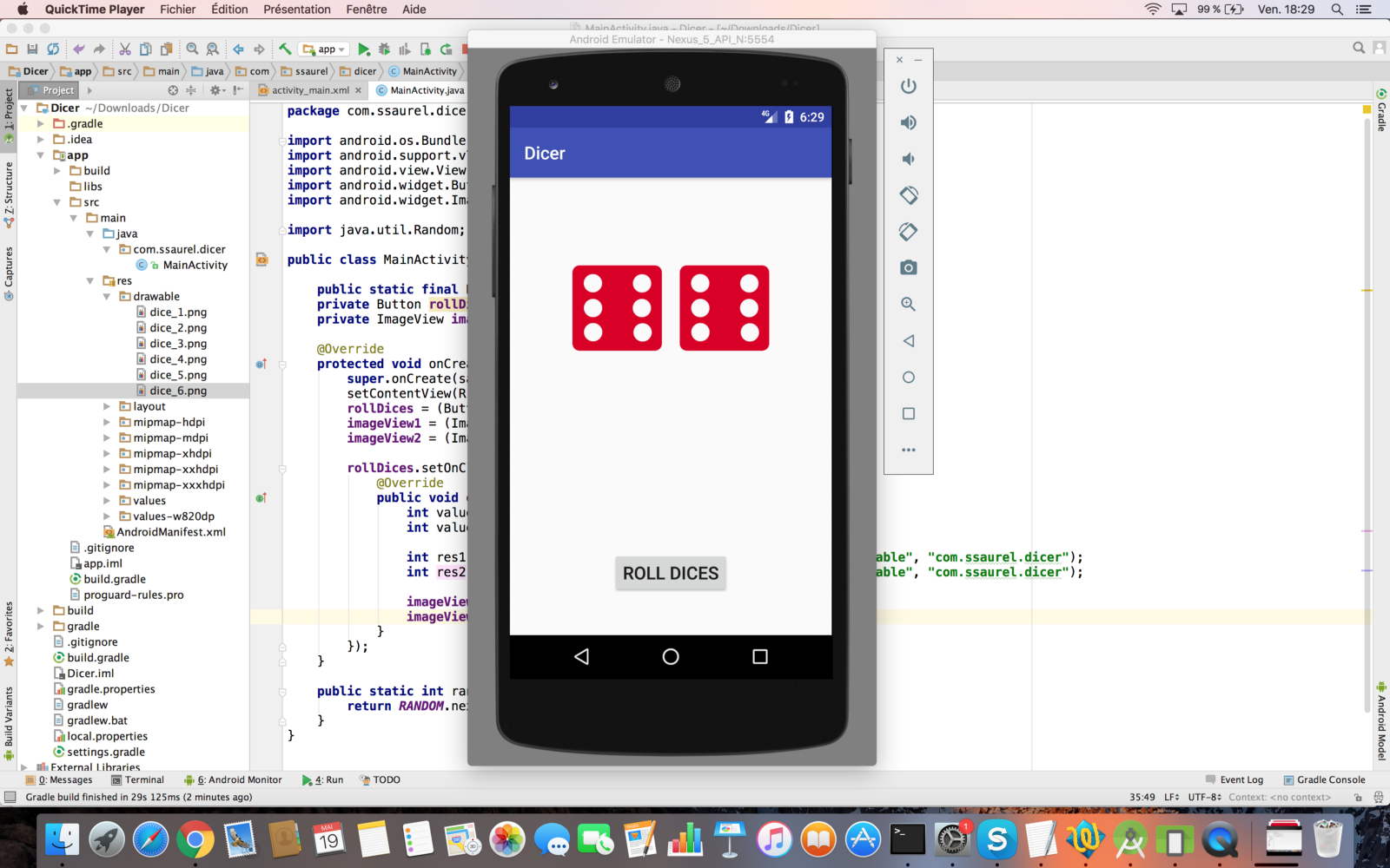 Learn to create a Roll Dice Game on Android – All for Android
