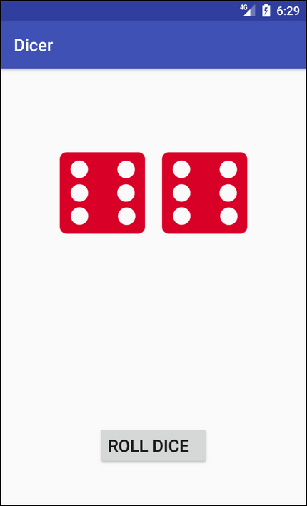 Create a Roll Dice Game on Android with Shake Effect – All