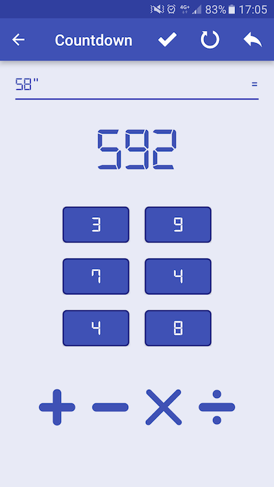Recreate the Countdown Math Game on Android – All for