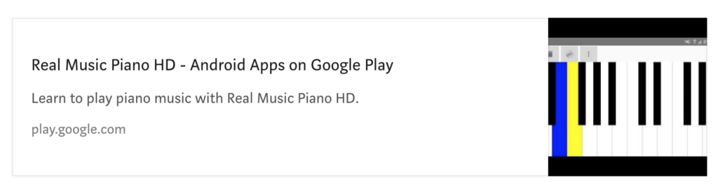 Creating a Virtual Piano Application for Android – All for