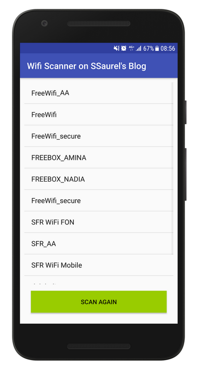 Develop a WiFi Scanner for Android – All for Android